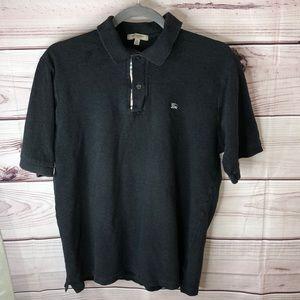 Burberry men's polo shirt size medium
